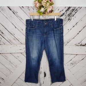 Lucky Brand Sweet Jean Crop sz 14